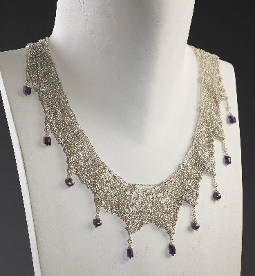 Lace Knit Necklace